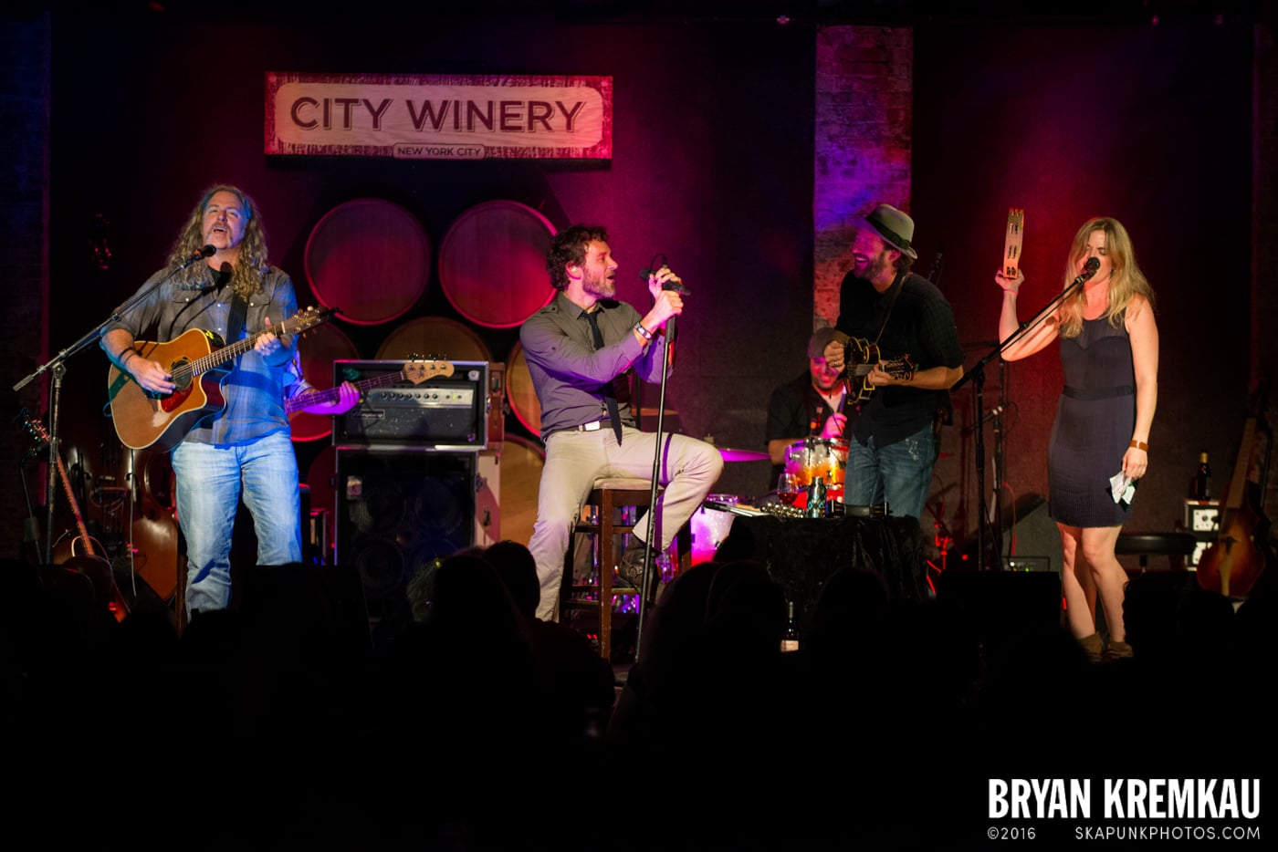 Carbon Leaf @ City Winery, NYC - 7.11.13 (7)