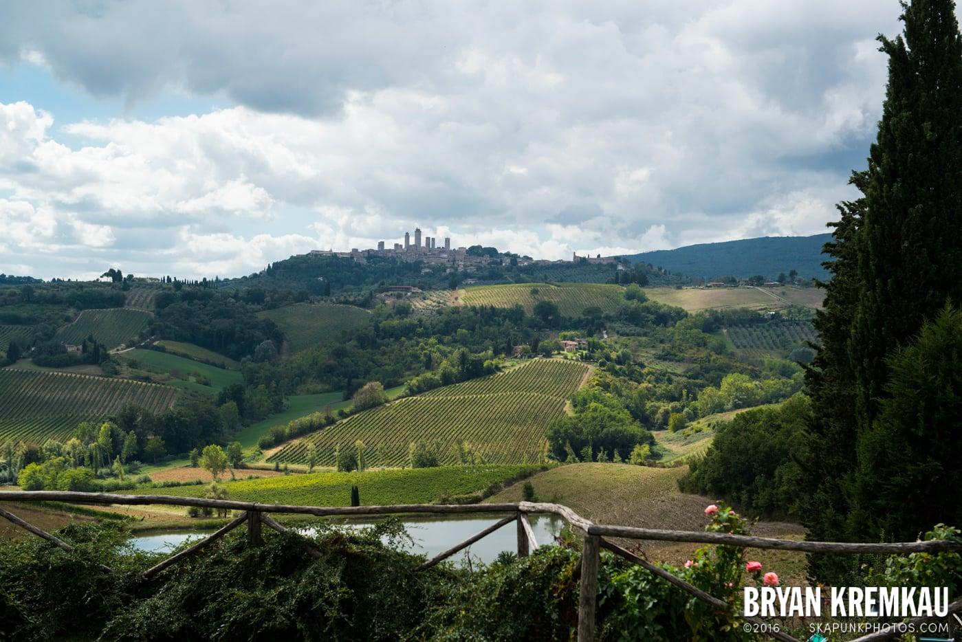 Italy Vacation - Day 8: Siena, San Gimignano, Chianti, Pisa - 9.16.13 (94)