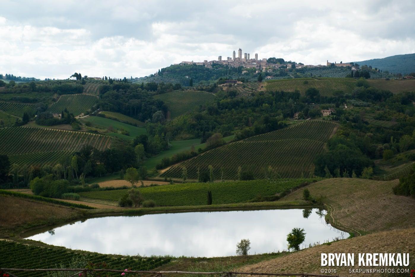 Italy Vacation - Day 8: Siena, San Gimignano, Chianti, Pisa - 9.16.13 (92)
