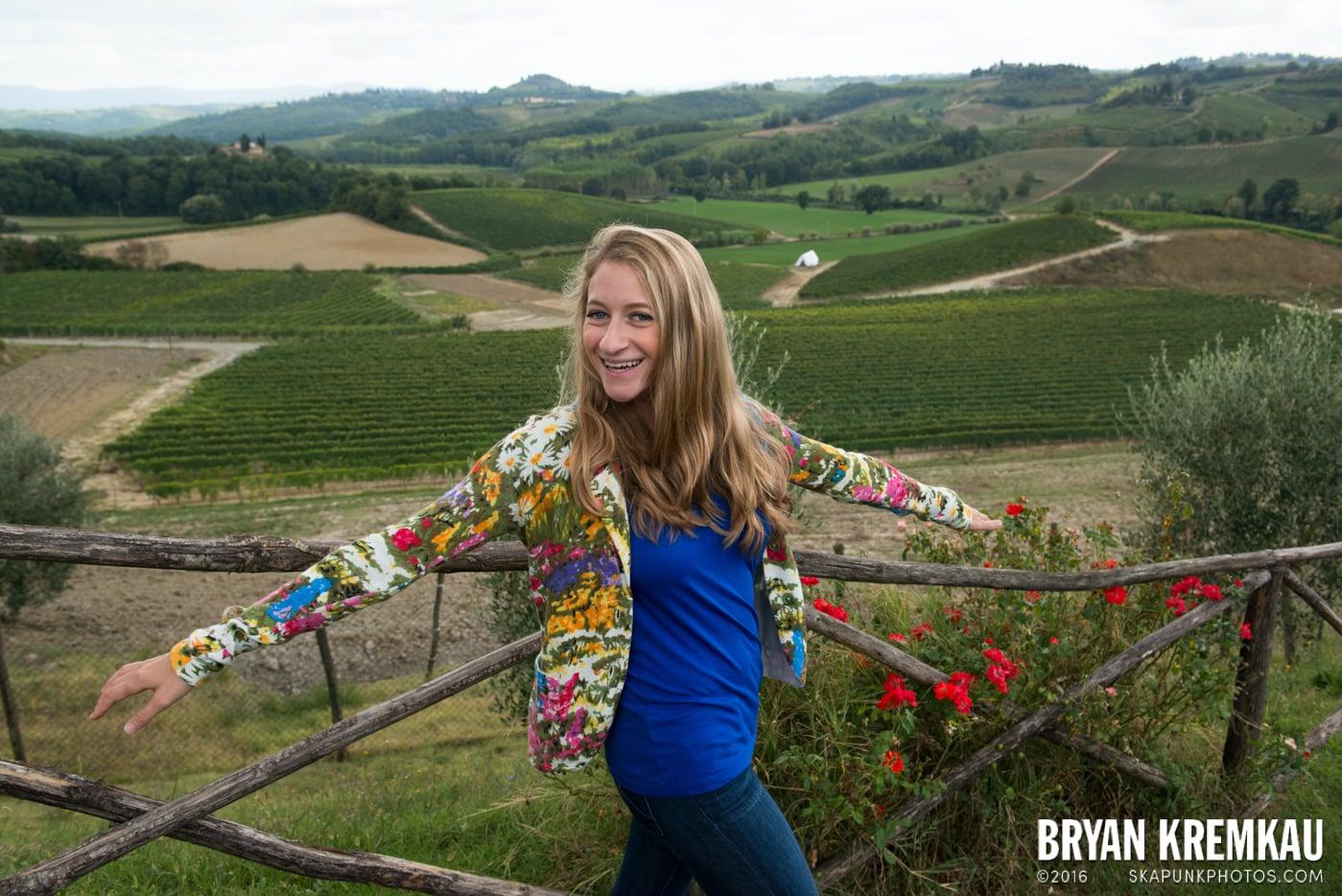 Italy Vacation - Day 8: Siena, San Gimignano, Chianti, Pisa - 9.16.13 (89)