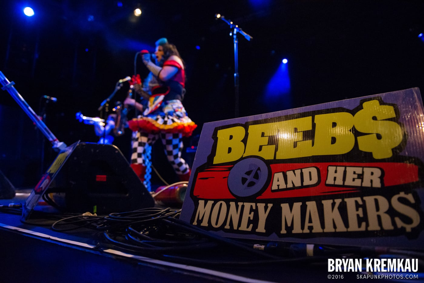 Beebs and Her Money Makers @ Best Buy Theater, NYC - 11.12.13 (34)