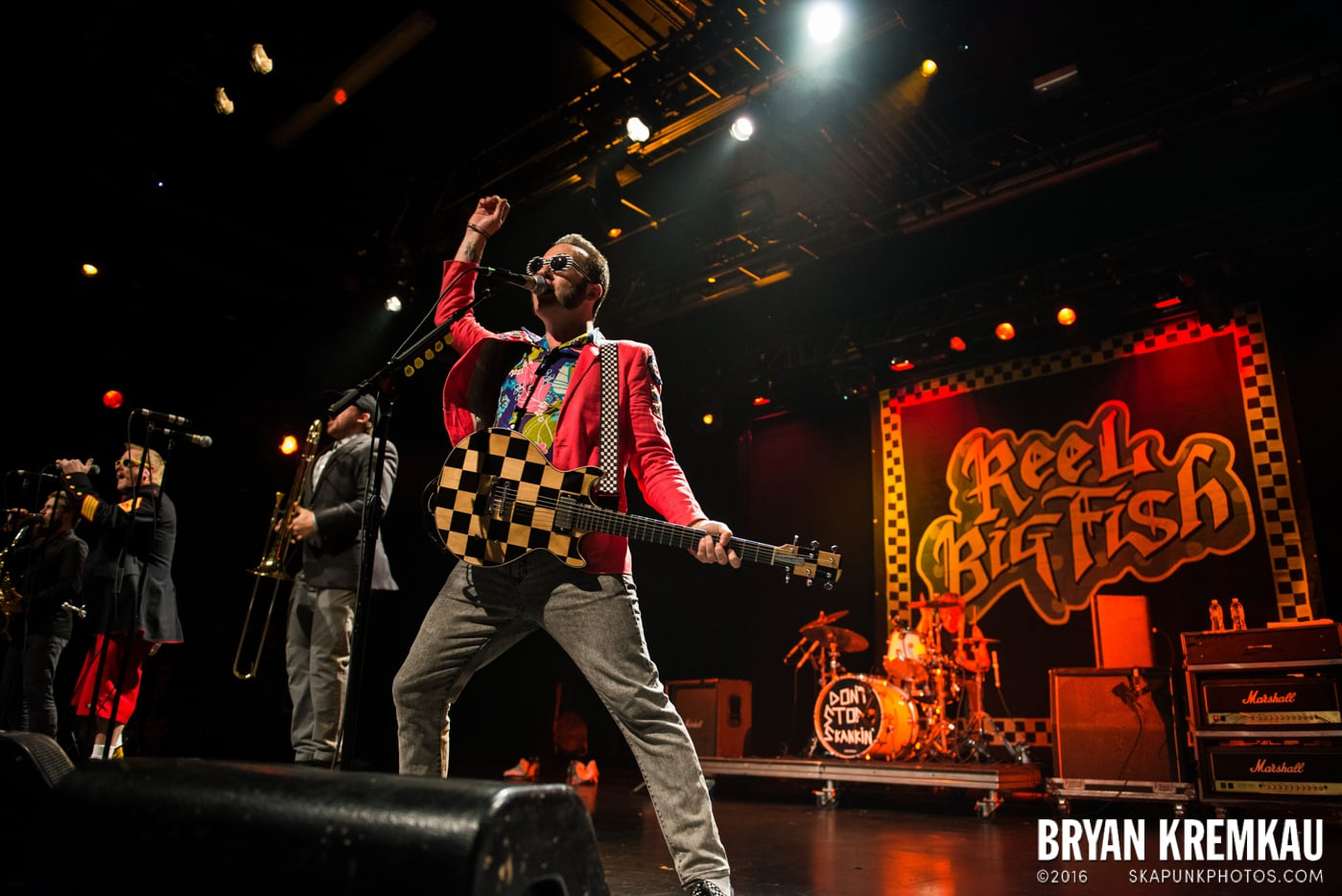 Reel Big Fish @ Best Buy Theater, NYC - 11.12.13 (13)