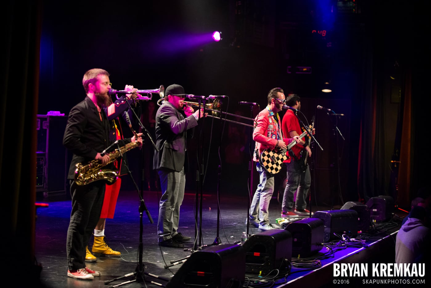 Reel Big Fish @ Best Buy Theater, NYC - 11.12.13 (9)