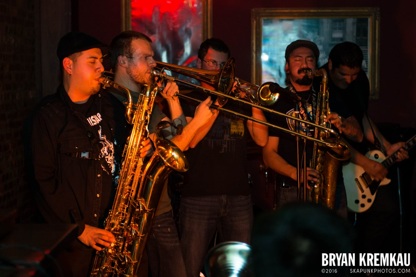 The Ladrones @ Characters, NYC - 11.16.13 (4)
