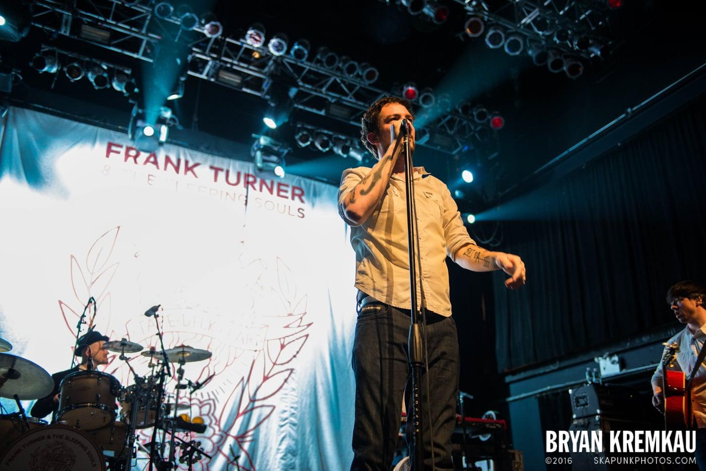 Frank Turner & The Sleeping Souls @ Terminal 5, NYC - 11.27.13 (33)