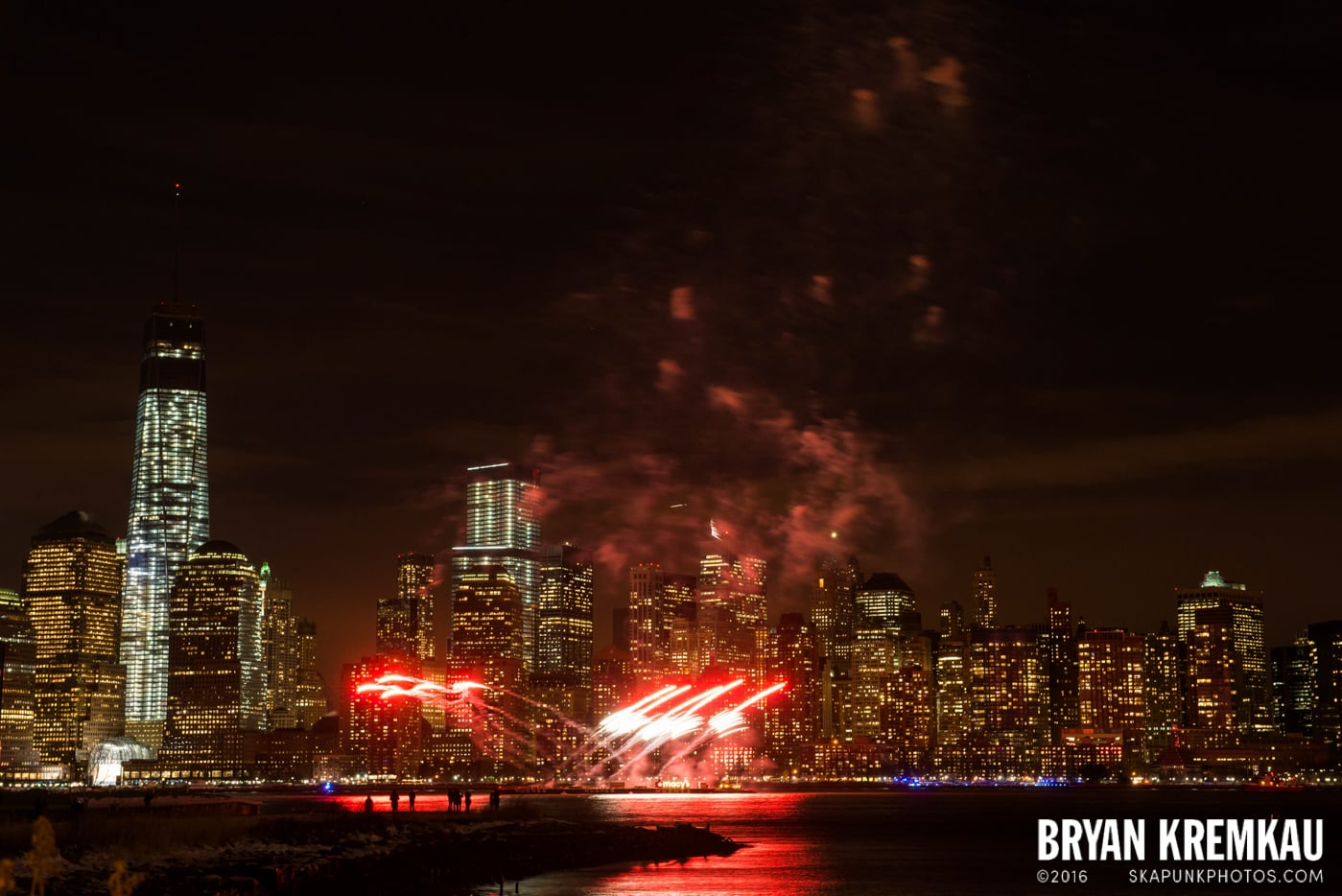 Fireworks at Super Bowl Kickoff Spectacular @ Liberty State Park, Jersey City, NJ - 1.27.14 (19)