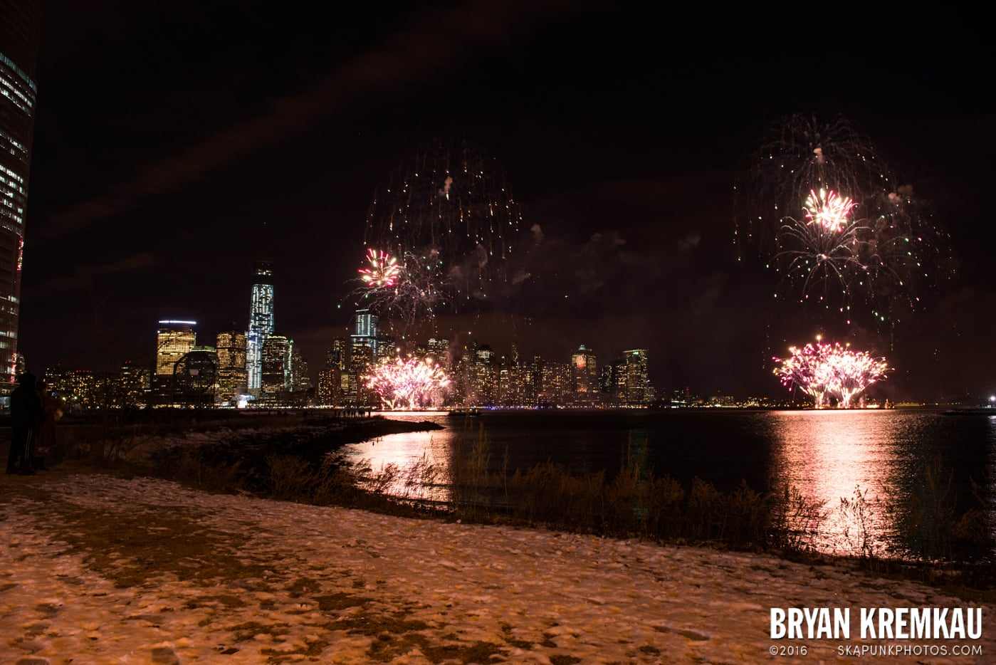 Fireworks at Super Bowl Kickoff Spectacular @ Liberty State Park, Jersey City, NJ - 1.27.14 (10)