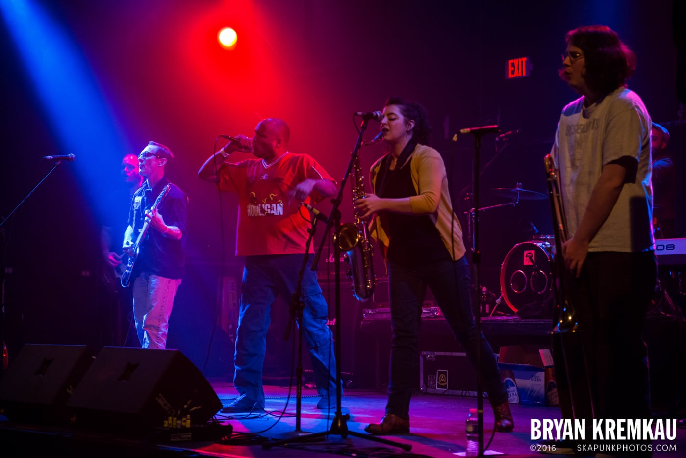 Hub City Stompers @ The Chance, Poughkeepsie, NY - 3.8.14 (17)