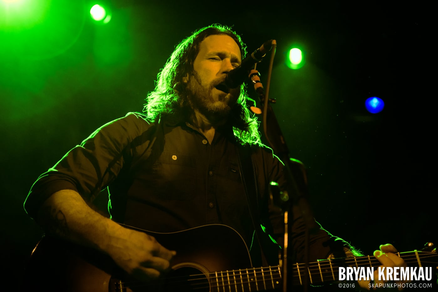 Chuck Ragan & The Camaraderie @ Irving Plaza, NYC - 4.18.14 (33)