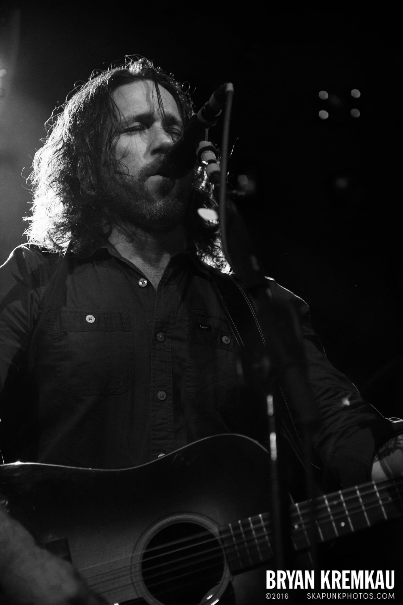 Chuck Ragan & The Camaraderie @ Irving Plaza, NYC - 4.18.14 (31)