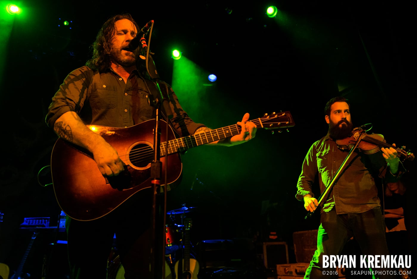 Chuck Ragan & The Camaraderie @ Irving Plaza, NYC - 4.18.14 (29)