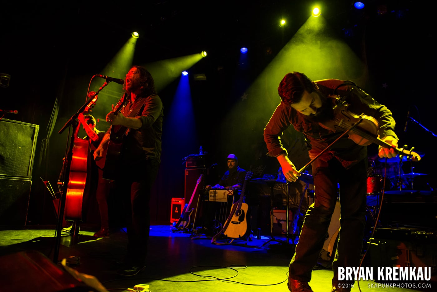 Chuck Ragan & The Camaraderie @ Irving Plaza, NYC - 4.18.14 (22)