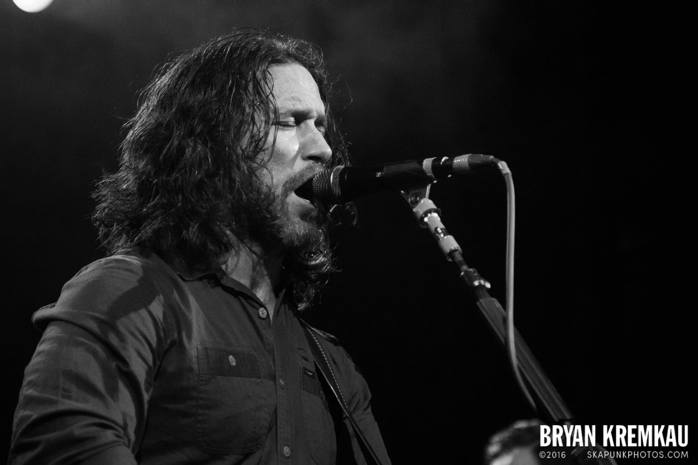 Chuck Ragan & The Camaraderie @ Irving Plaza, NYC - 4.18.14 (16)