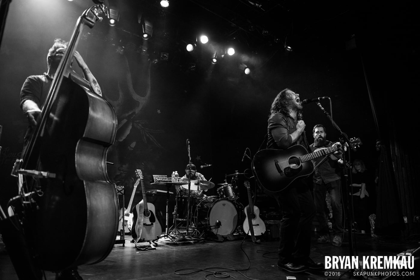 Chuck Ragan & The Camaraderie @ Irving Plaza, NYC - 4.18.14 (13)