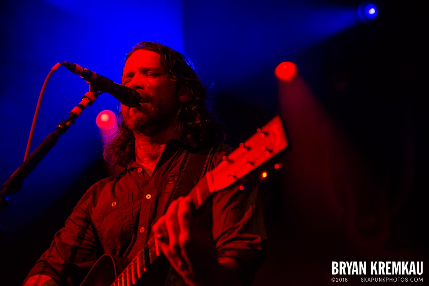 Chuck Ragan & The Camaraderie @ Irving Plaza, NYC - 4.18.14 (8)