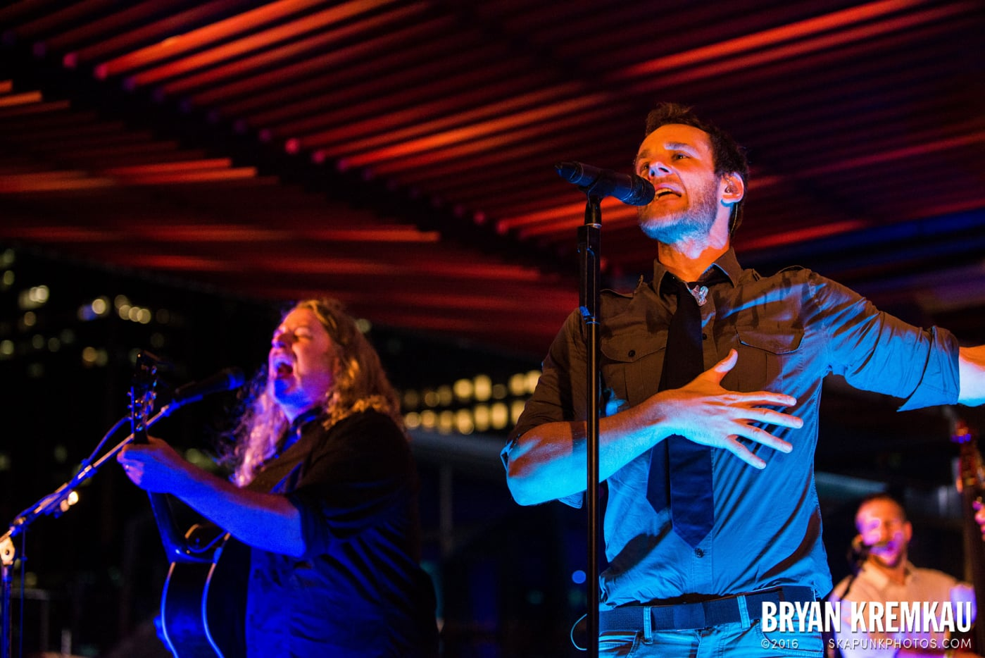 Carbon Leaf @ Watermark Bar, NYC - 6.26.14 (32)