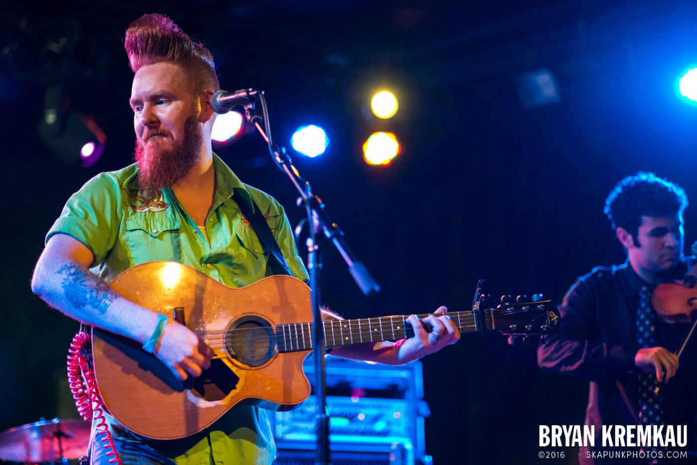 Danny Burns Band @ Knitting Factory, Brooklyn, NY - 9.10.14 (10)