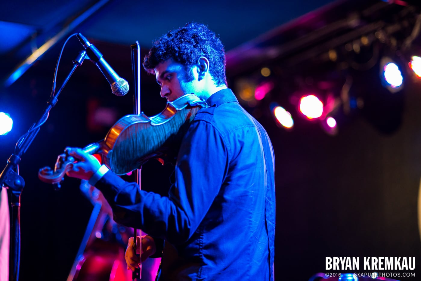 Danny Burns Band @ Knitting Factory, Brooklyn, NY - 9.10.14 (1)