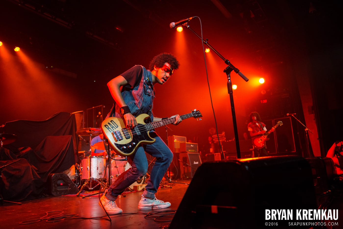 Radkey @ Best Buy Theater, NYC - 9.26.14 (1)