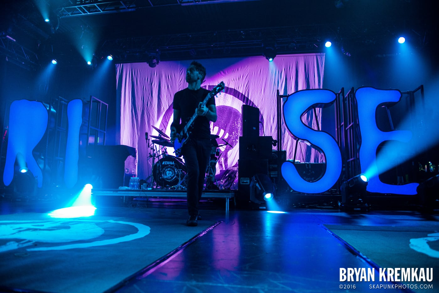 Rise Against @ Best Buy Theater, NYC - 9.26.14 (45)