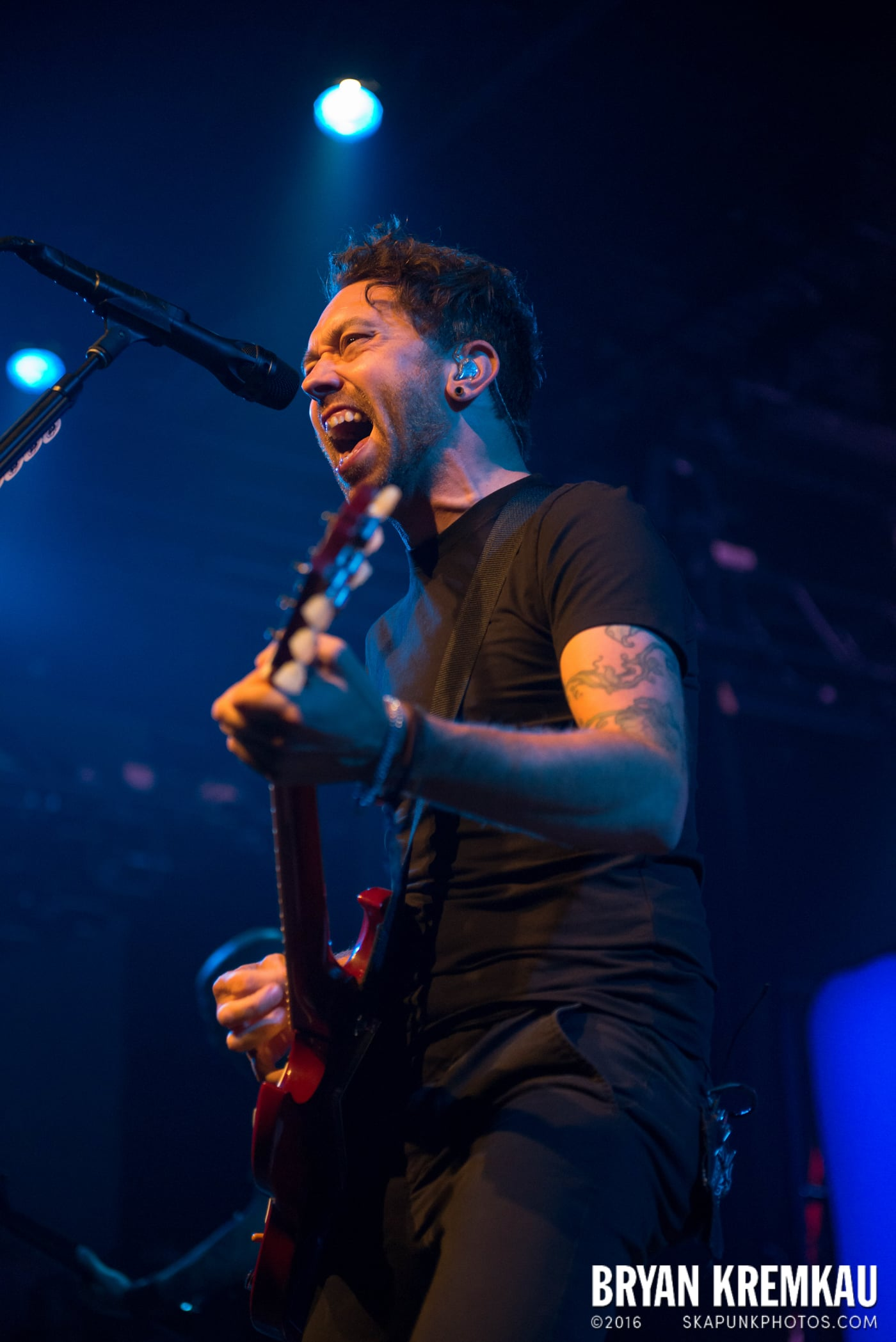 Rise Against @ Best Buy Theater, NYC - 9.26.14 (40)