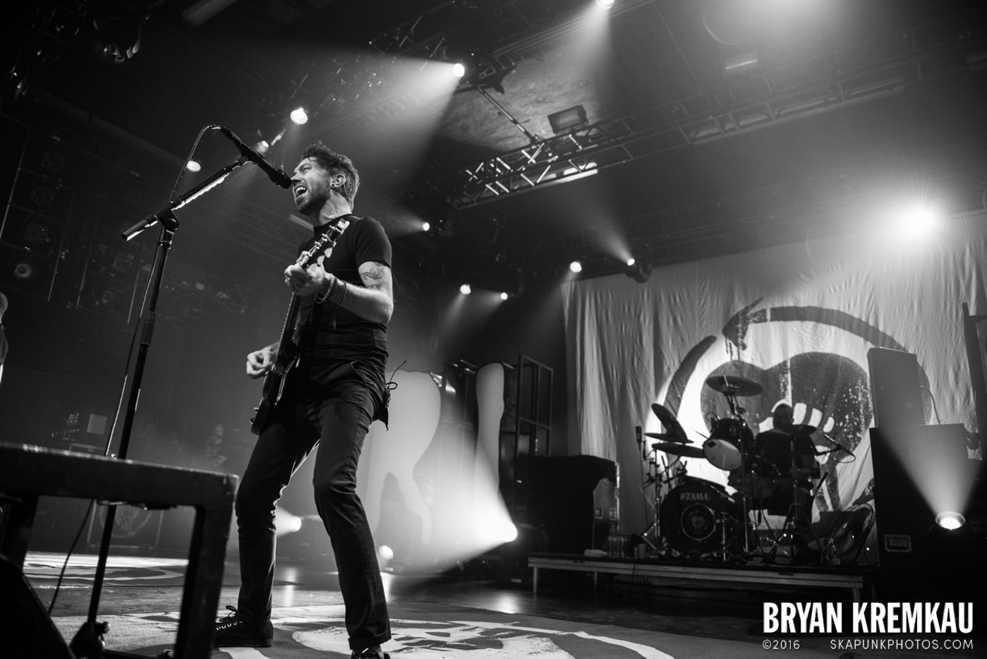 Rise Against @ Best Buy Theater, NYC - 9.26.14 (37)