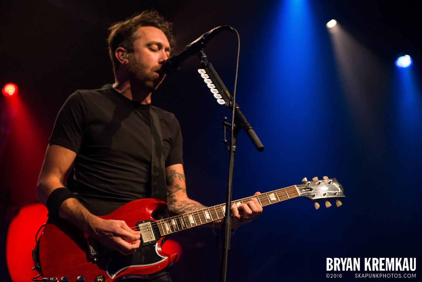 Rise Against @ Best Buy Theater, NYC - 9.26.14 (36)