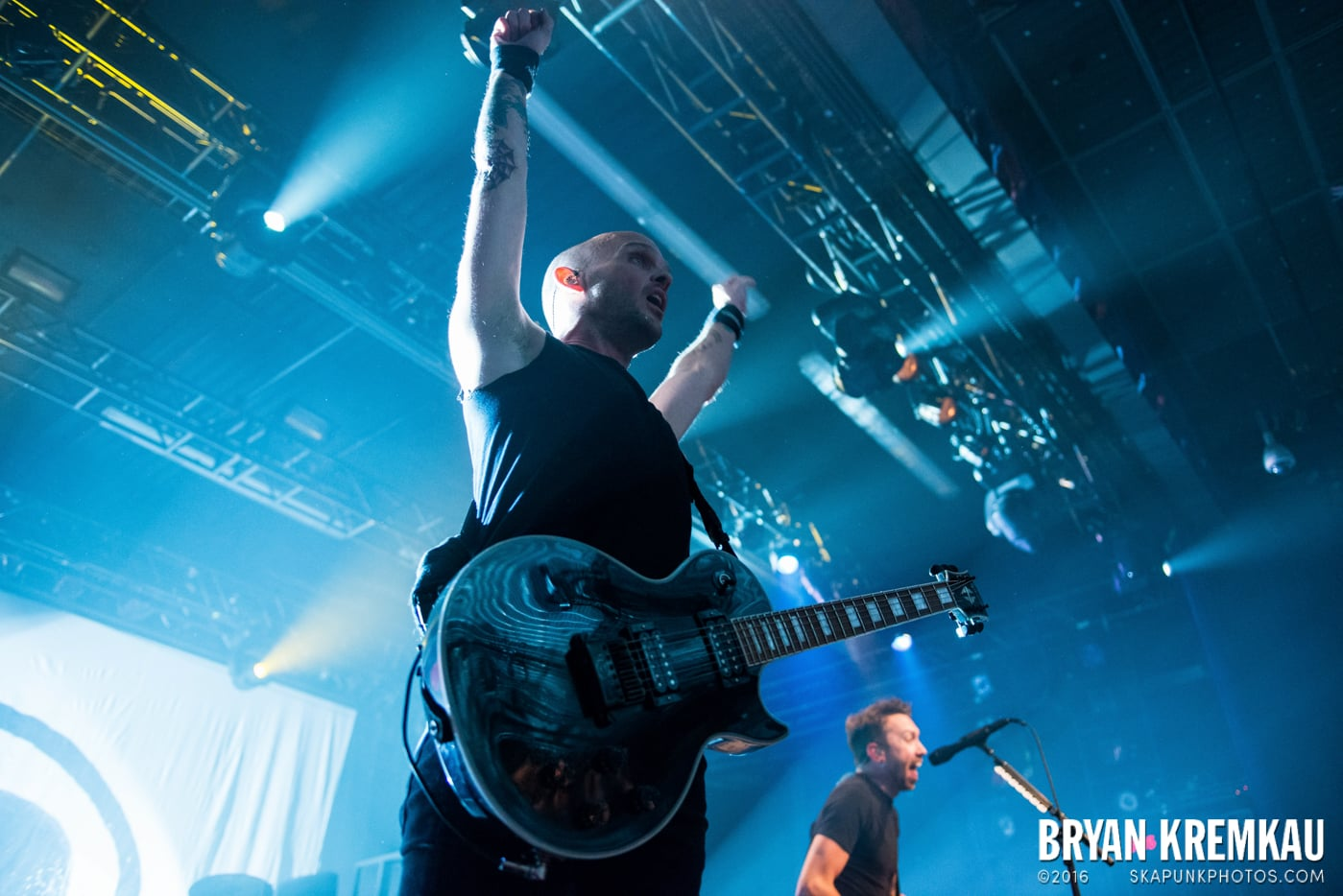 Rise Against @ Best Buy Theater, NYC - 9.26.14 (33)