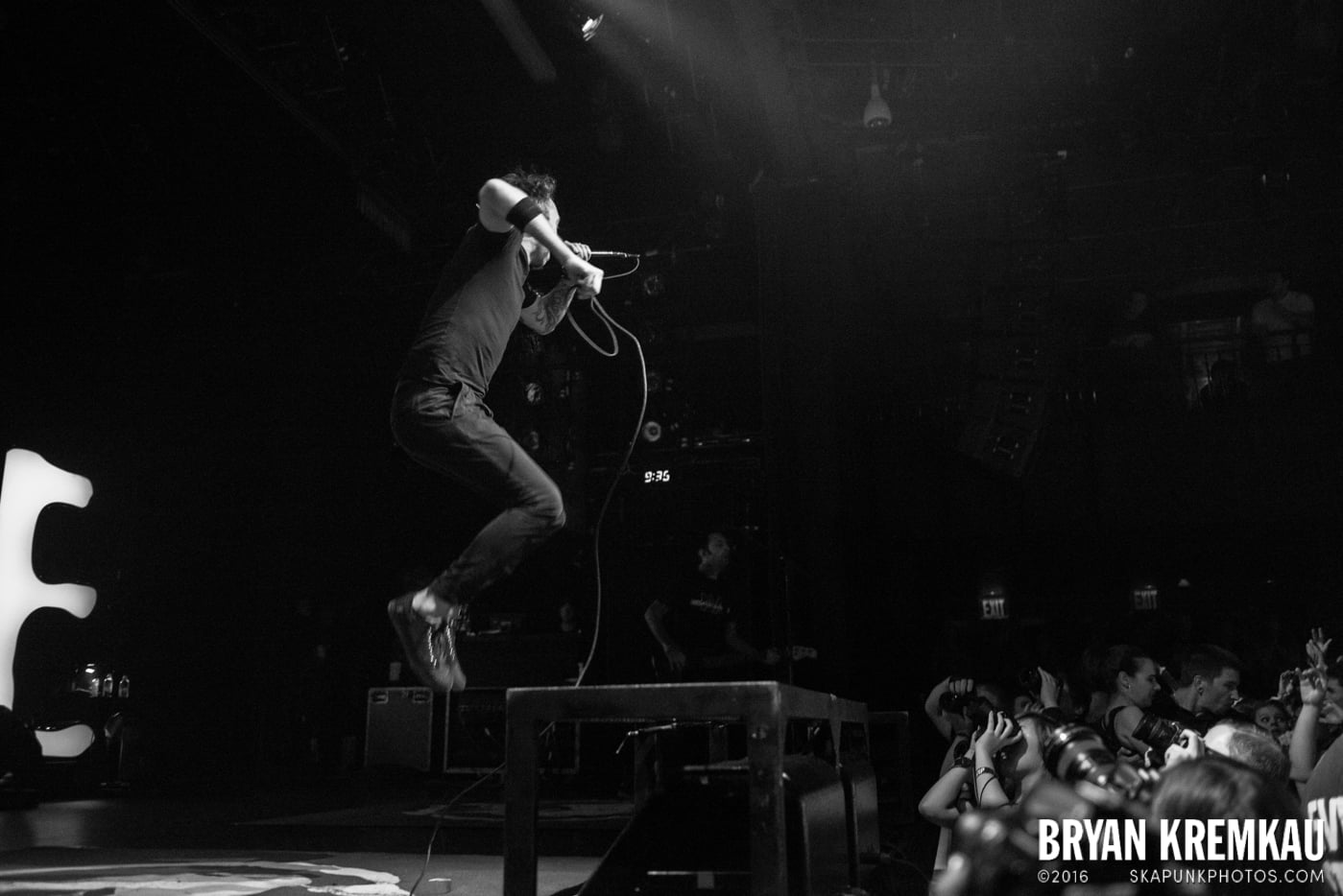 Rise Against @ Best Buy Theater, NYC - 9.26.14 (32)