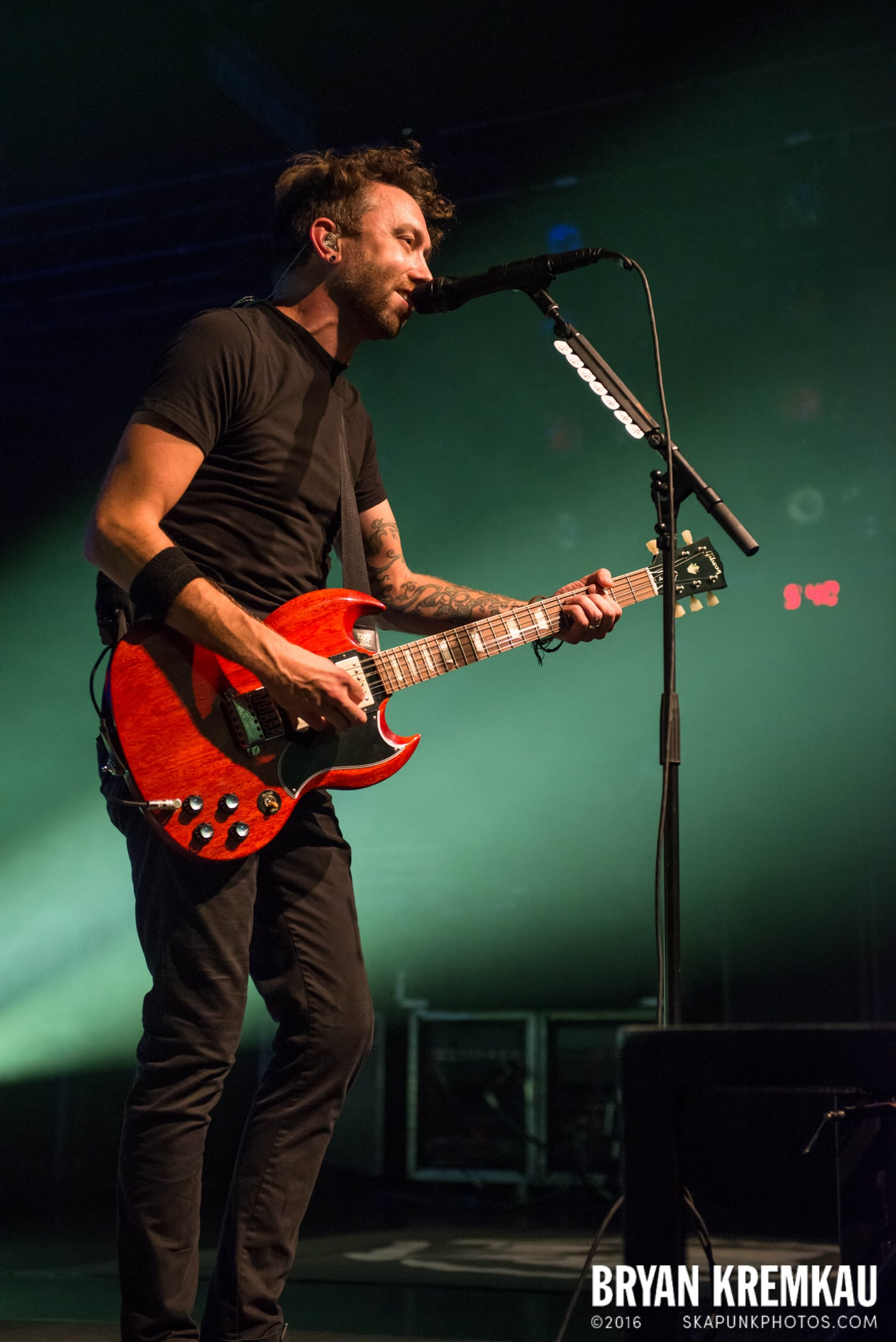 Rise Against @ Best Buy Theater, NYC - 9.26.14 (14)