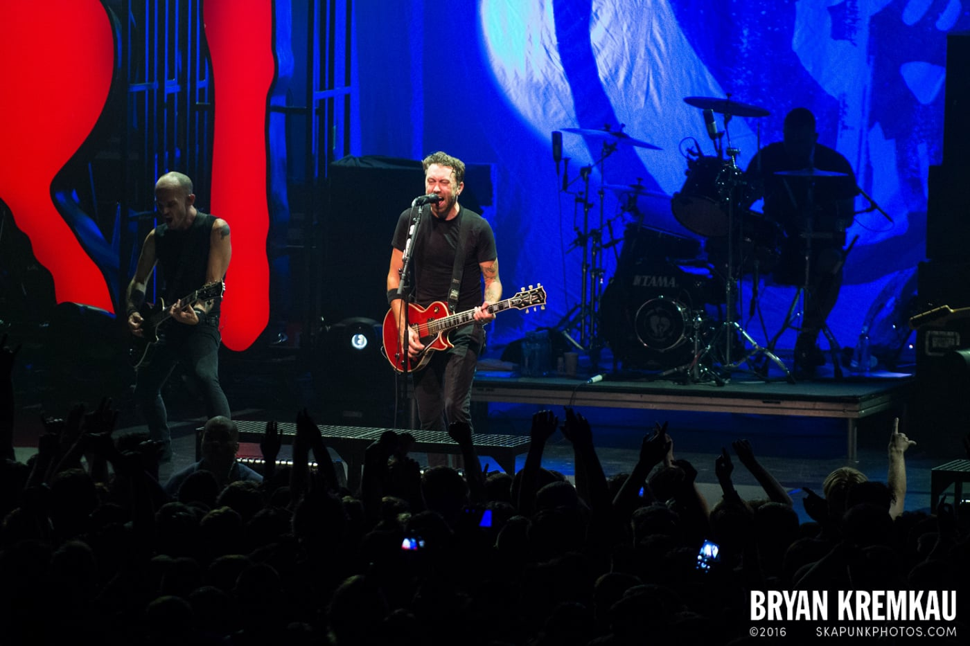 Rise Against @ Best Buy Theater, NYC - 9.26.14 (6)