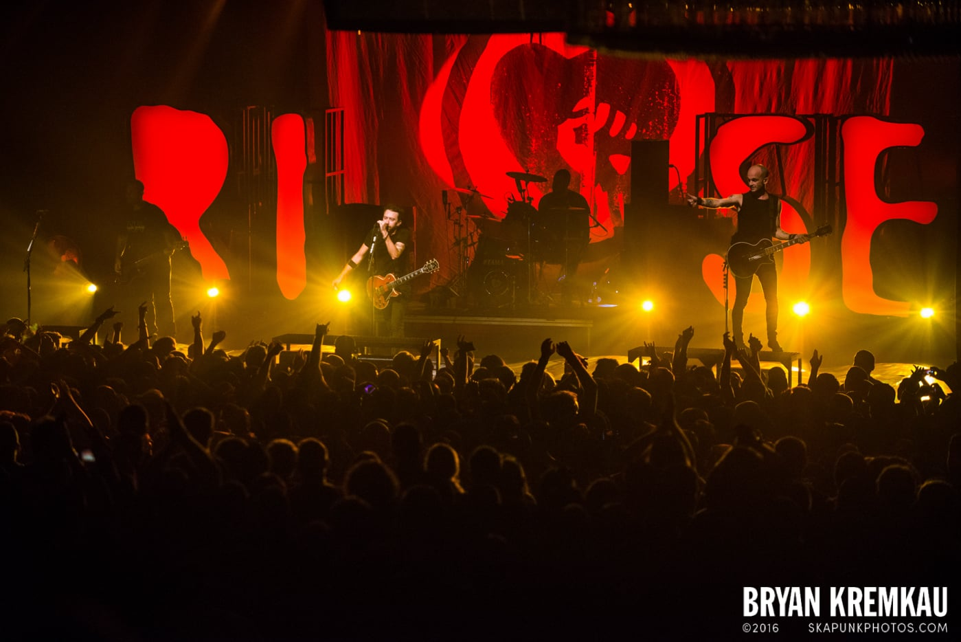 Rise Against @ Best Buy Theater, NYC - 9.26.14 (5)