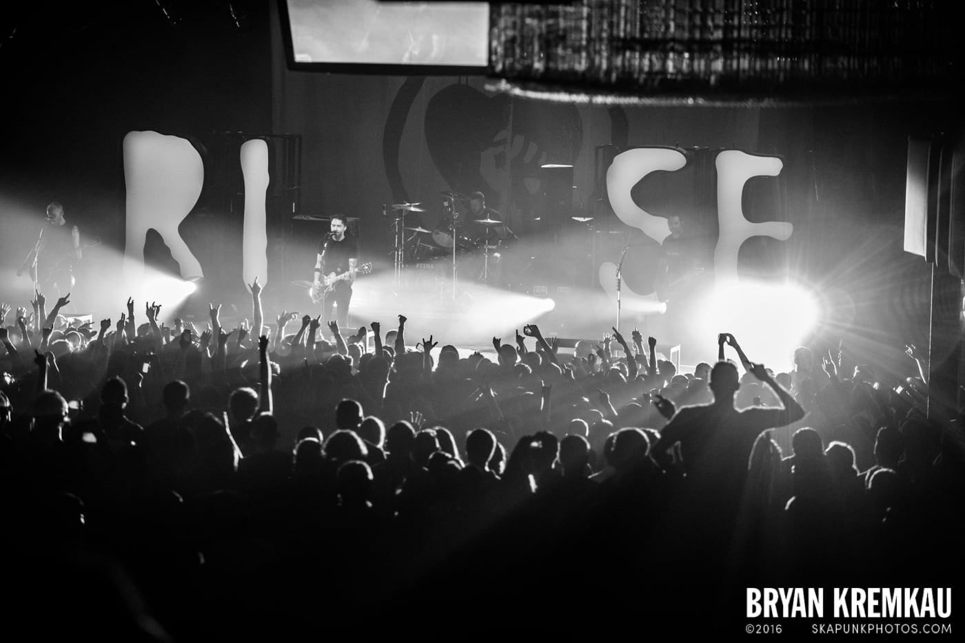 Rise Against @ Best Buy Theater, NYC - 9.26.14 (4)