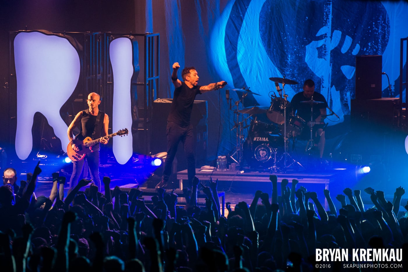 Rise Against @ Best Buy Theater, NYC - 9.26.14 (2)