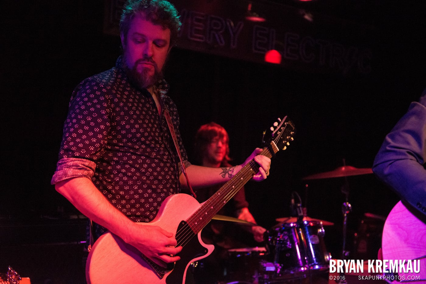 Trapper Schoepp & The Shades @ Bowery Electric, NYC - 11.20.14 (59)