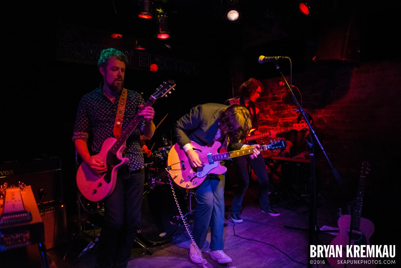 Trapper Schoepp & The Shades @ Bowery Electric, NYC - 11.20.14 (56)