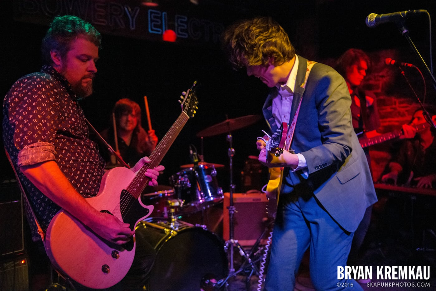 Trapper Schoepp & The Shades @ Bowery Electric, NYC - 11.20.14 (51)