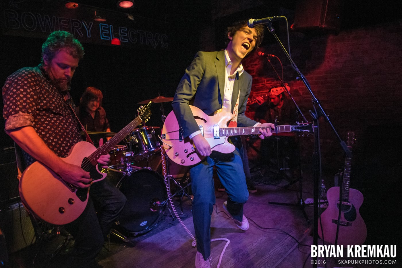 Trapper Schoepp & The Shades @ Bowery Electric, NYC - 11.20.14 (48)