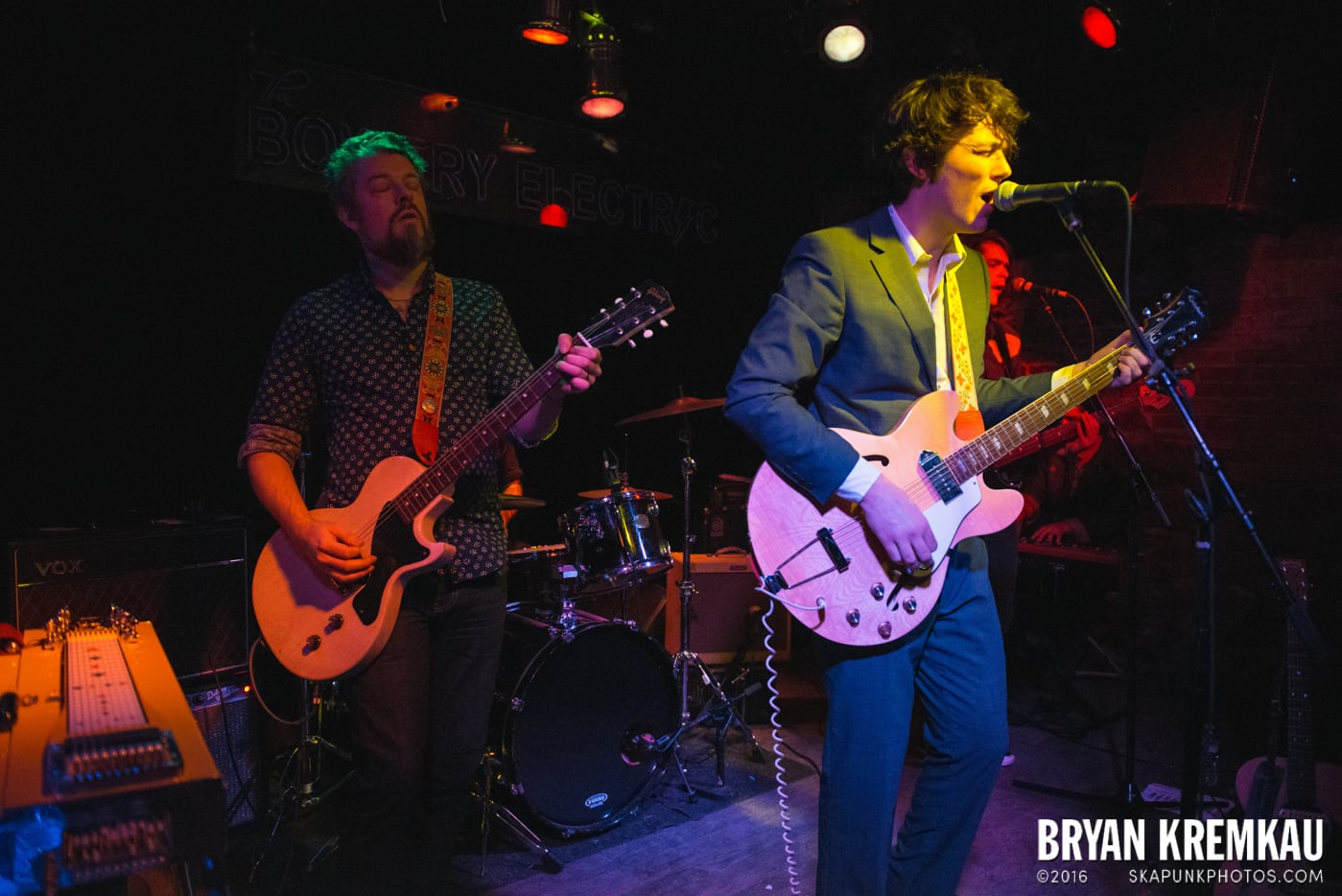 Trapper Schoepp & The Shades @ Bowery Electric, NYC - 11.20.14 (23)