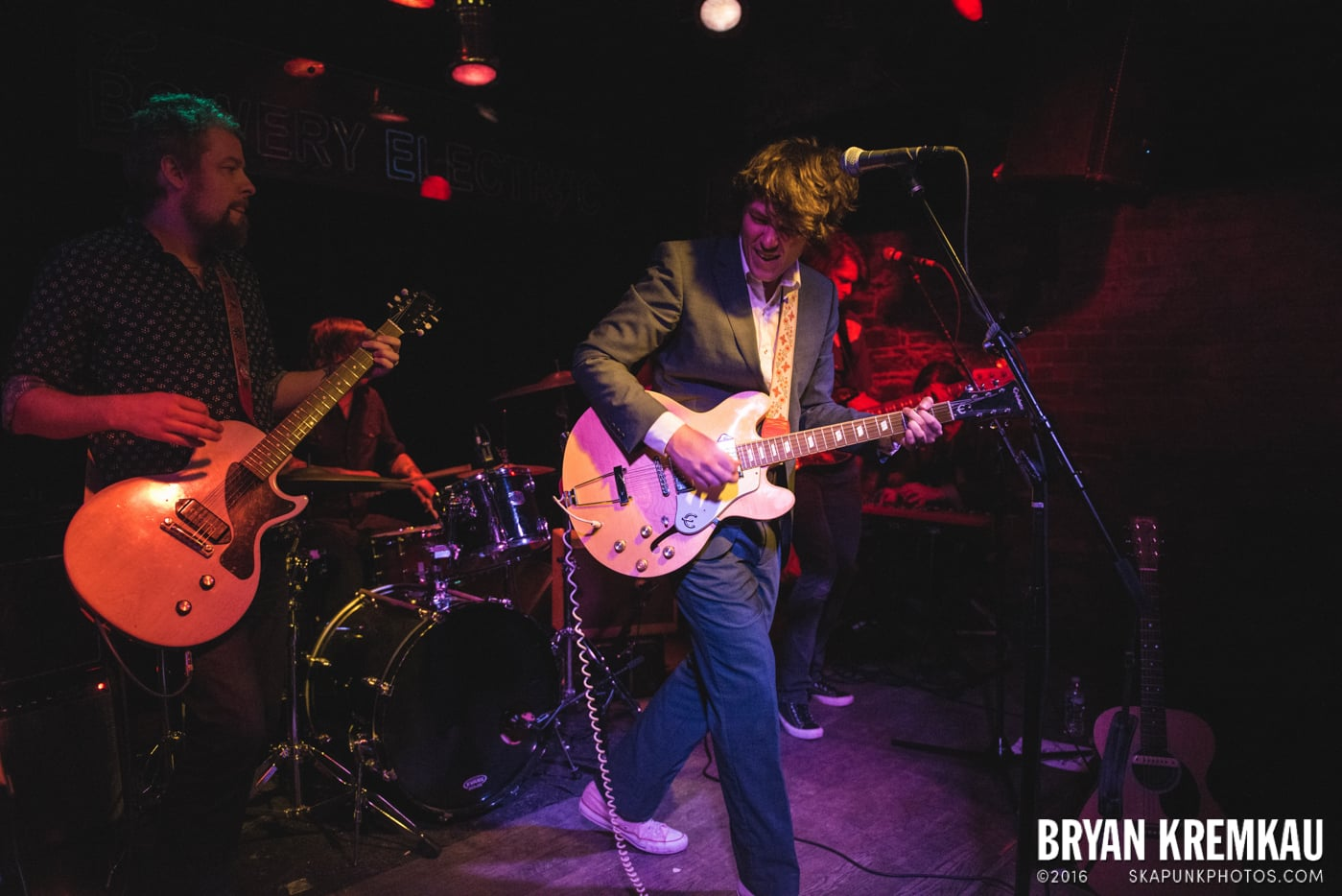 Trapper Schoepp & The Shades @ Bowery Electric, NYC - 11.20.14 (20)