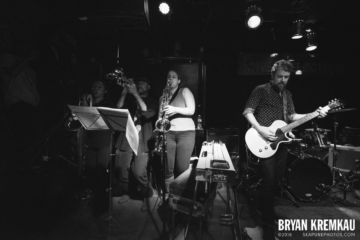 Trapper Schoepp & The Shades @ Bowery Electric, NYC - 11.20.14 (18)
