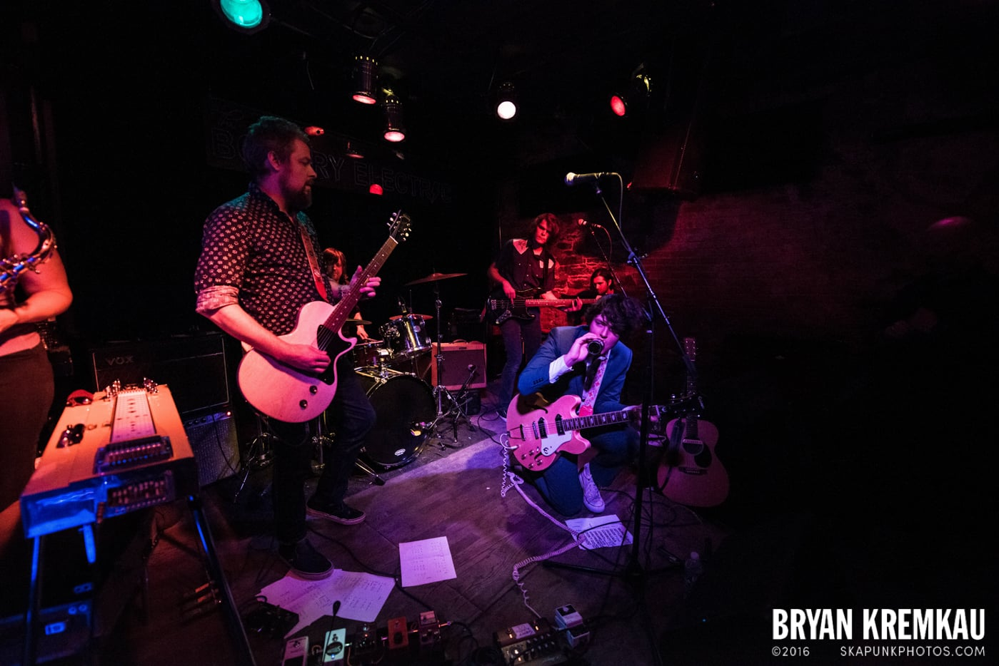 Trapper Schoepp & The Shades @ Bowery Electric, NYC - 11.20.14 (17)