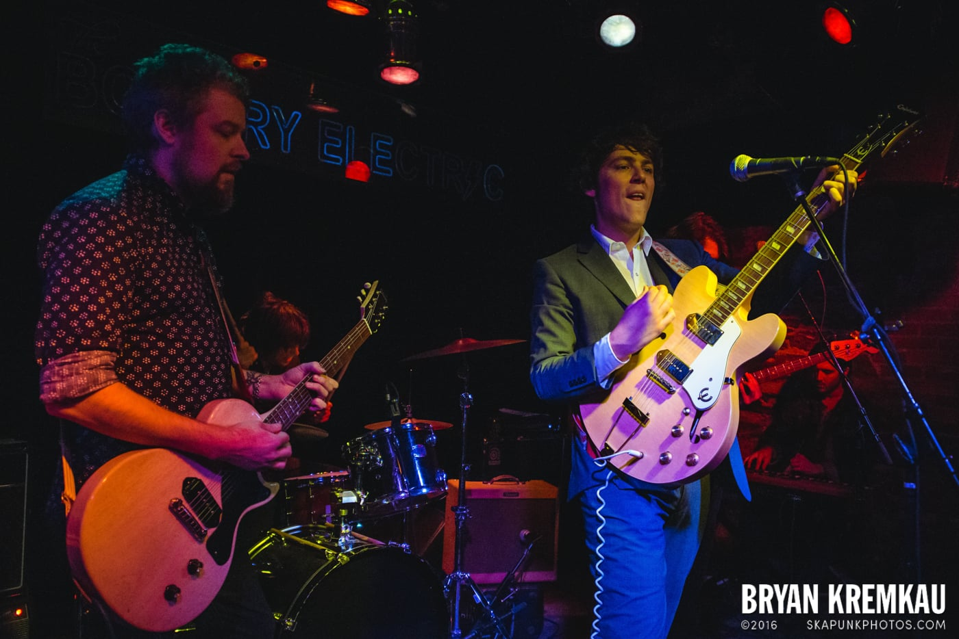 Trapper Schoepp & The Shades @ Bowery Electric, NYC - 11.20.14 (16)
