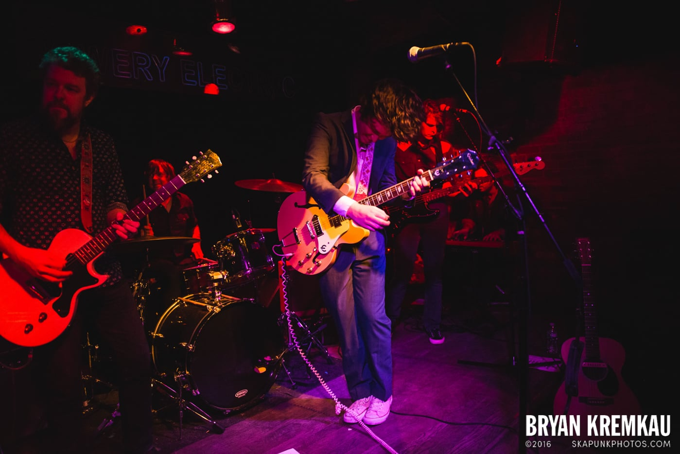Trapper Schoepp & The Shades @ Bowery Electric, NYC - 11.20.14 (9)