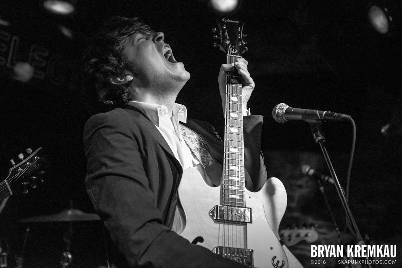 Trapper Schoepp & The Shades @ Bowery Electric, NYC - 11.20.14 (5)