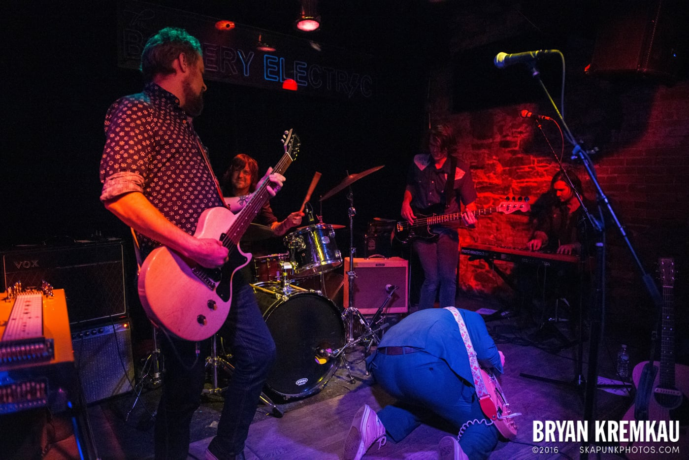 Trapper Schoepp & The Shades @ Bowery Electric, NYC - 11.20.14 (4)