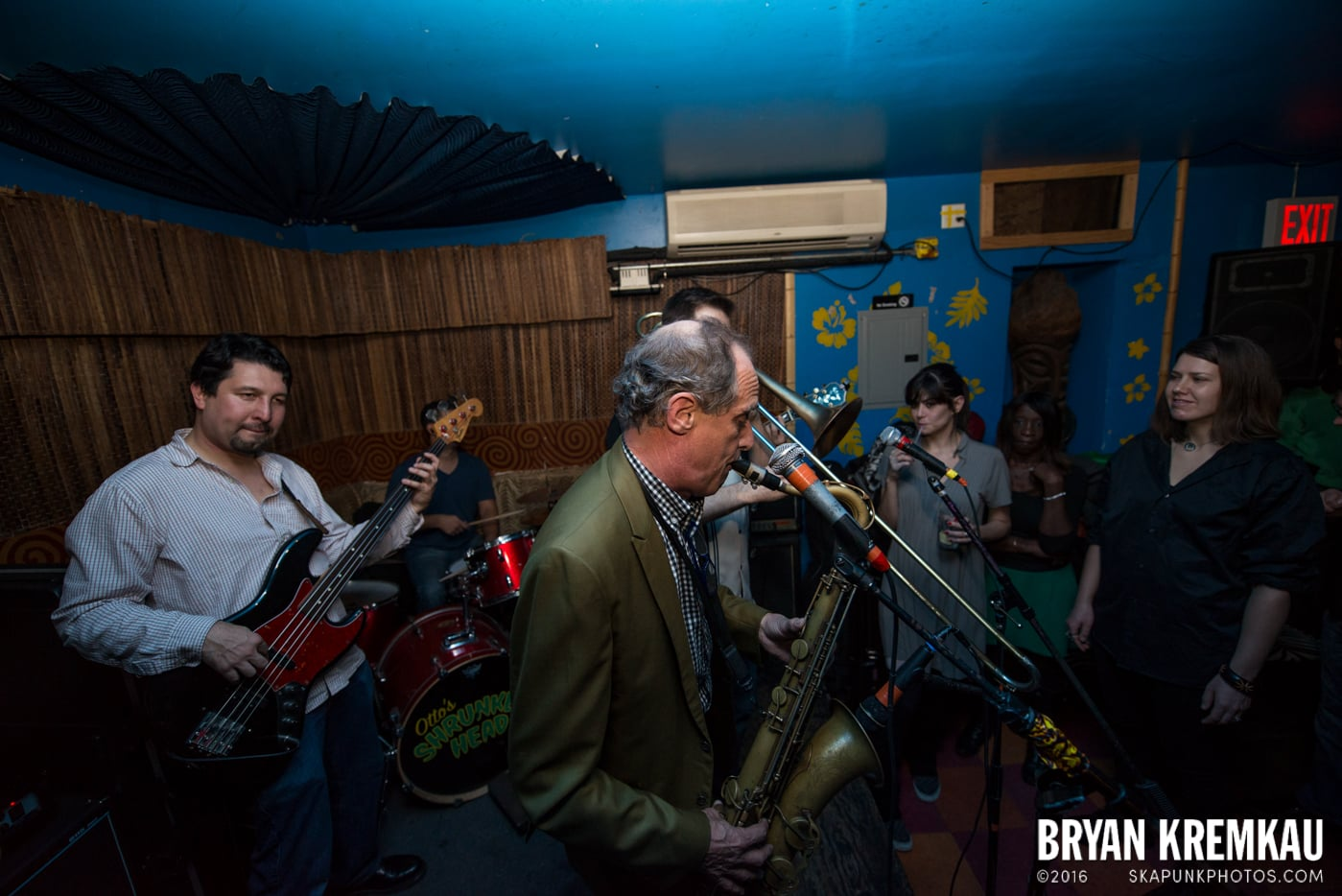 The Scofflaws @ Otto's Shrunken Head, NYC - 12.5.14 (18)