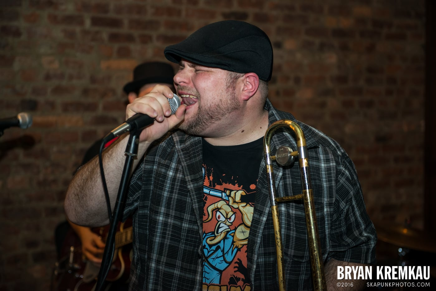 Pete Porker with The Pandemics @ Characters, NYC - 1.3.15 (52)