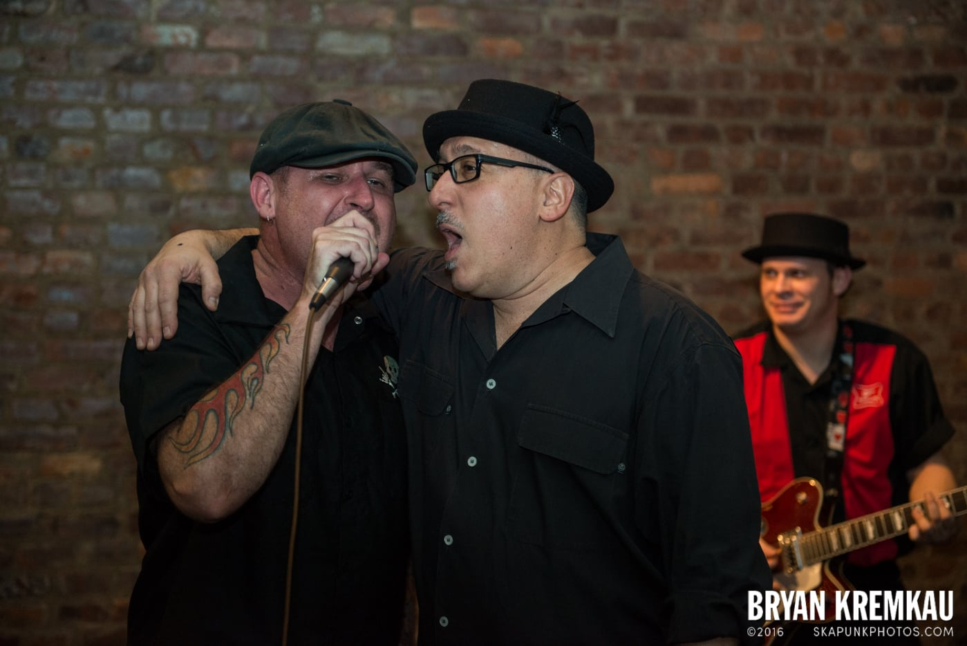 Pete Porker with The Pandemics @ Characters, NYC - 1.3.15 (3)