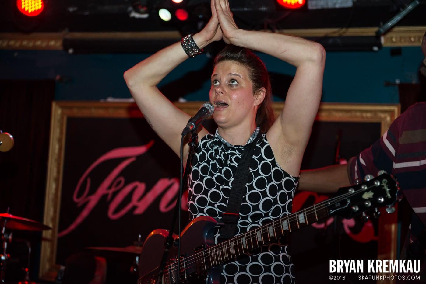 The Scotch Bonnets @ Fontana's, NYC - 4.25.15 (2)
